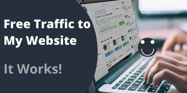 Free Traffic to My Website - It Works!