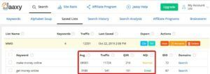 Jaaxy is a keyword research tool, and it comes with the subscription of Wealthy Affiliate membership!