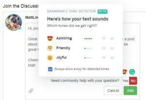 Grammar, spelling, and punctuation errors by Grammarly