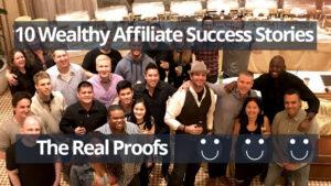 wealthy affiliate success stories