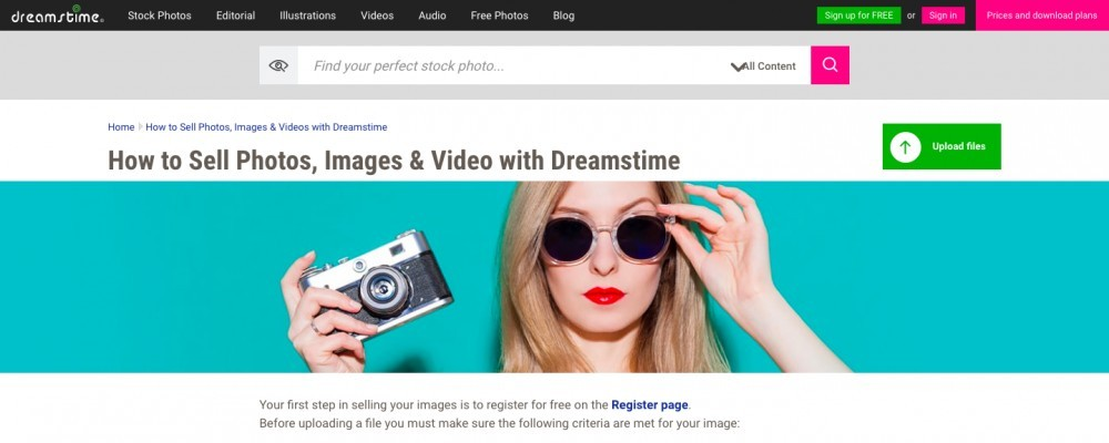 Dreamstime Review – Can You Get Paid Selling Photos Online?