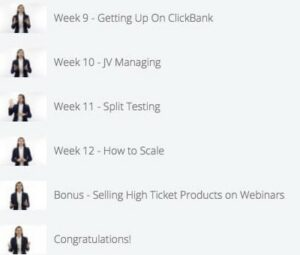 Clickbank University 2.0 Review - 9-12 week curriculums