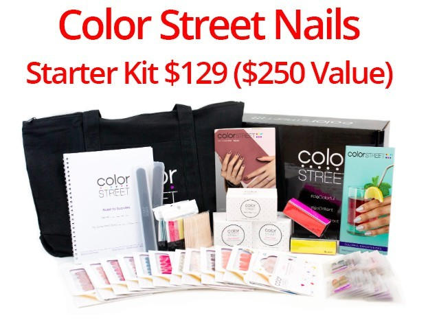Starter Kit of Color Street Nail