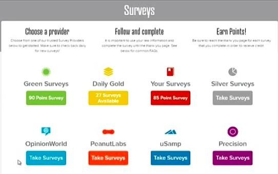 Paid Survey is the primary online activity on all consumer rewards sites. PrizeRebel will direct you to the 3rd party's website to do all the surveys.