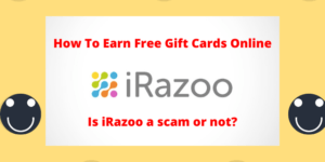 iRazoo Review - How To Earn Free Gift Cards Online