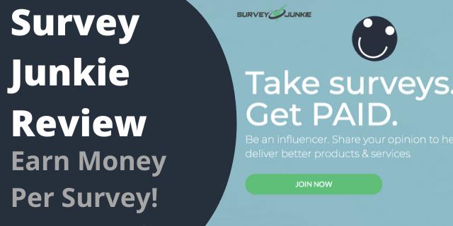 Survey Junkie Review - Earn Money Per Survey!