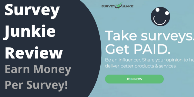 Survey Junkie Review - Earn Money Per Survey!