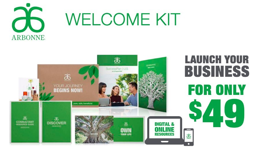 Is Arbonne A Scam? - Arbonne Welcome Kit $49