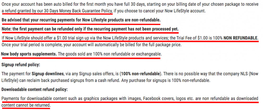Is Now Lifestyle A Scam? - Now Lifestyle Refund Policy