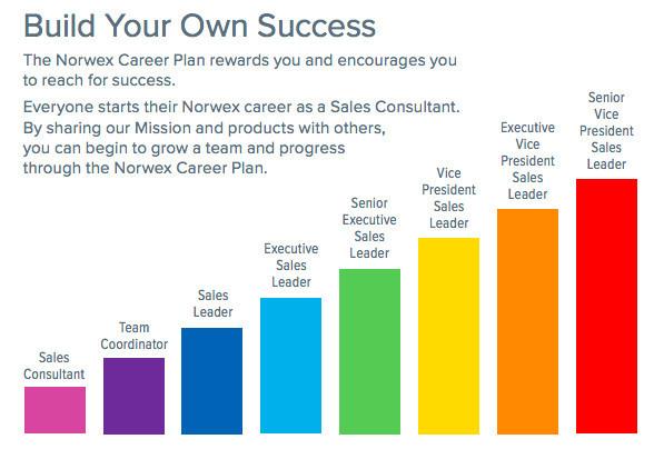 Norwex Rankings
