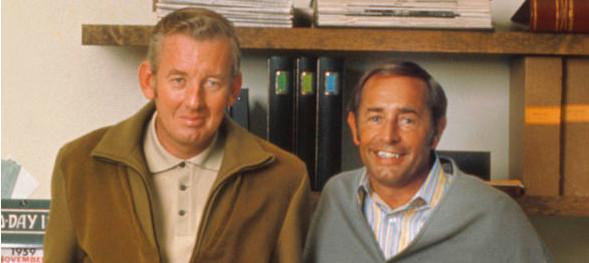 Richard DeVos and John Van Andel built Amway together.