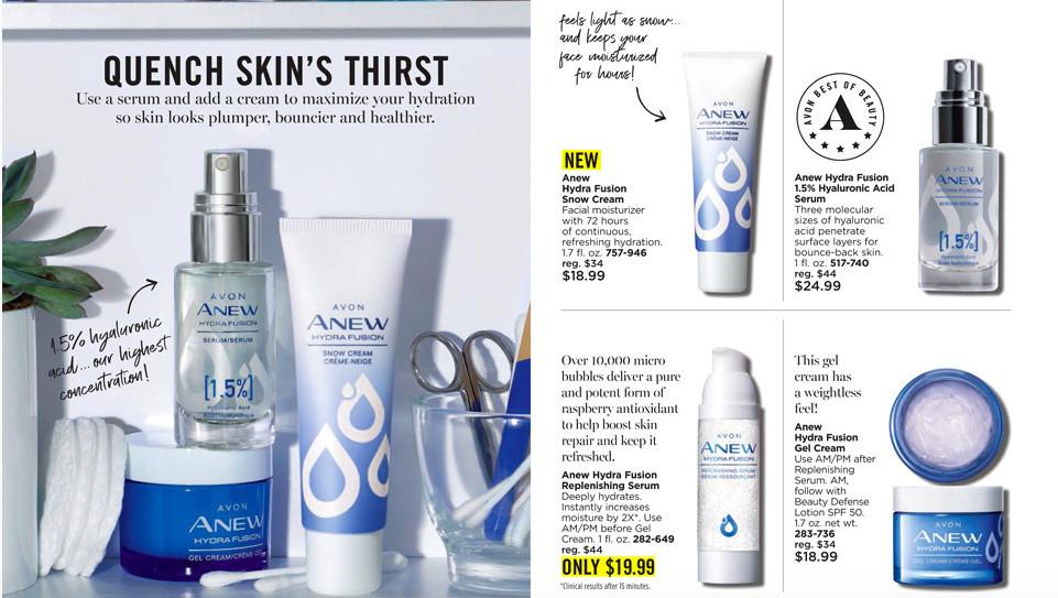 Avon Product line