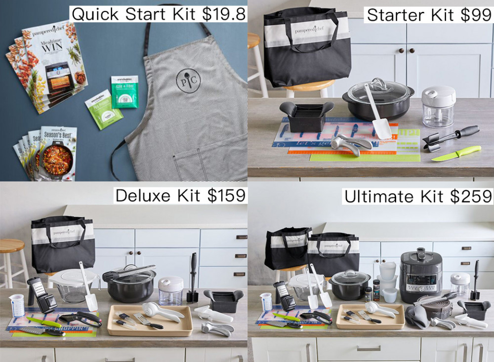 Is Pampered Chef A Pyramid Scheme? - Pampered Chef Starter Kits