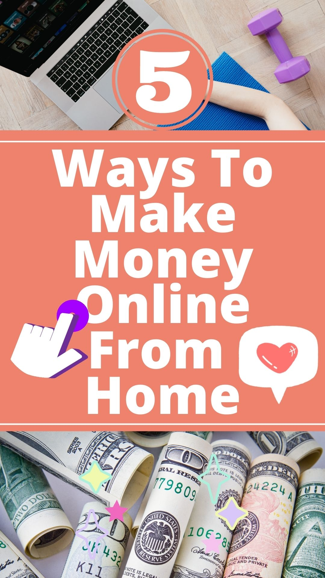 5 Ways To Make Money Online From Home
