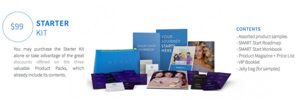 Monat Starter Kit $99