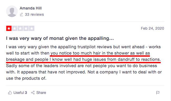 Monat complaint 03