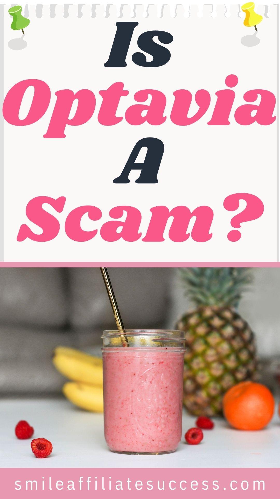 Is Optavia A Scam?