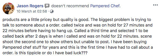 Is Pampered Chef A Pyramid Scheme? - Pampered Chef's Terrible Customer Services