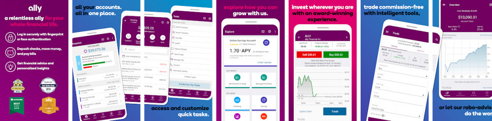 Ally Invest Review - Ally Mobile APP