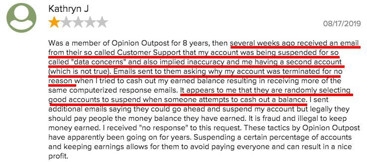 Is Opinion Outpost Legit? - complaints