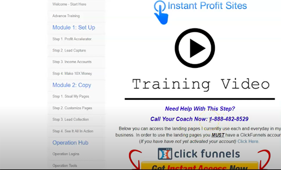 Quick Home Websites Review - Instant Profit Sites