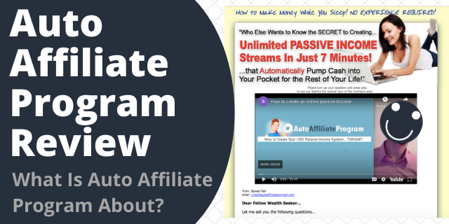 What Is Auto Affiliate Program About?