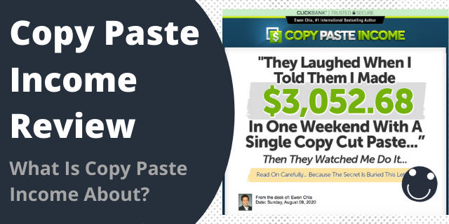 What Is Copy Paste Income About?
