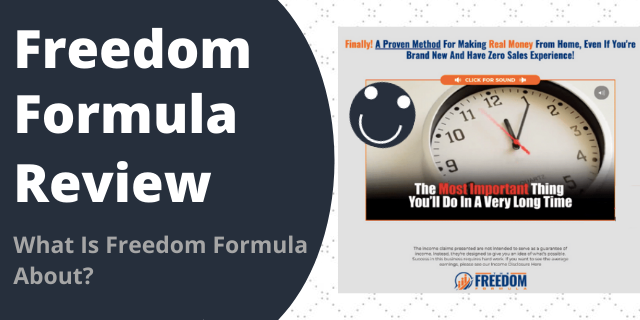 What Is Freedom Formula About?