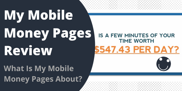 What Is My Mobile Money Pages About?