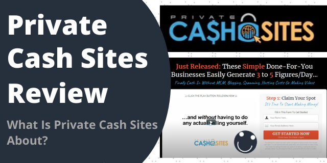What Is Private Cash Sites About?