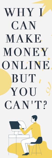 Why I can make money online buy you can't?