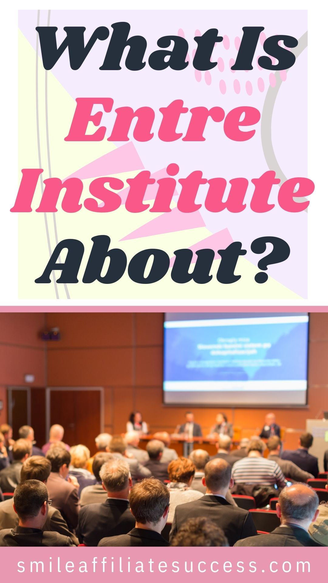 What Is Entre Institute About?