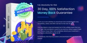Click And Bank Review - A-30-Day-Money-Back-Guarantee