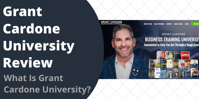What Is Grant Cardone University?
