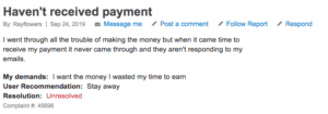 What Is Paid4clout About? - complaint