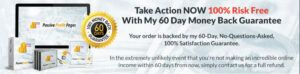 What Is Passive Profit Pages? - 60 Day Money Back Guarantee