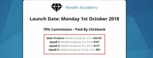 What Is Wealth Academy? - Upsells