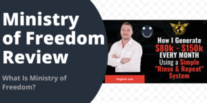 What Is Ministry of Freedom?