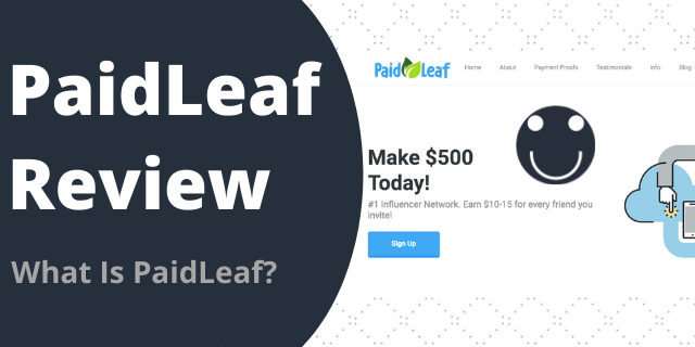 What Is PaidLeaf?
