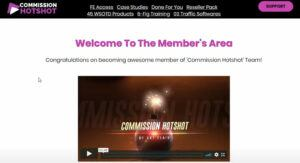 What Is Commission Hotshot? - Members area