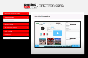 Is Boomerang Buddy A Scam? - Members area