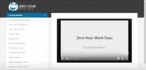 Zero Hour Work Days Review - member area