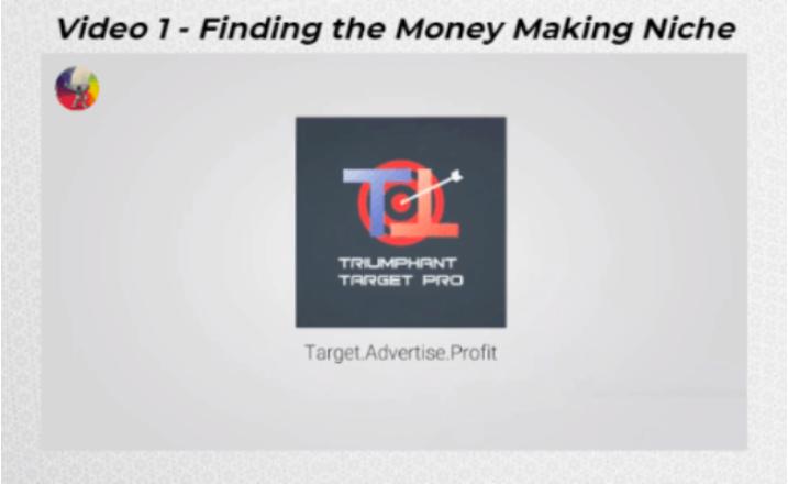 Easy Profit Secrets Review -  Triumphant Target Pro logo