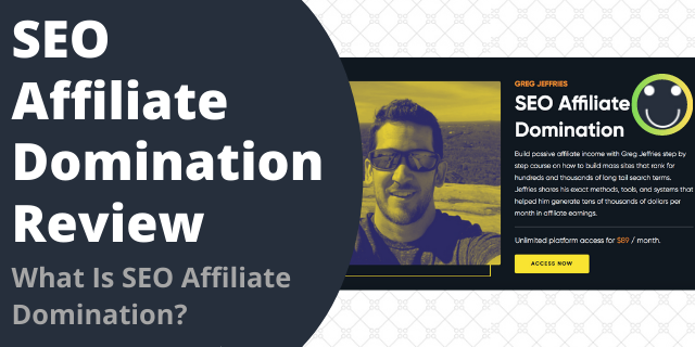What Is SEO Affiliate Domination?