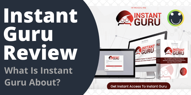 What Is Instant Guru About?